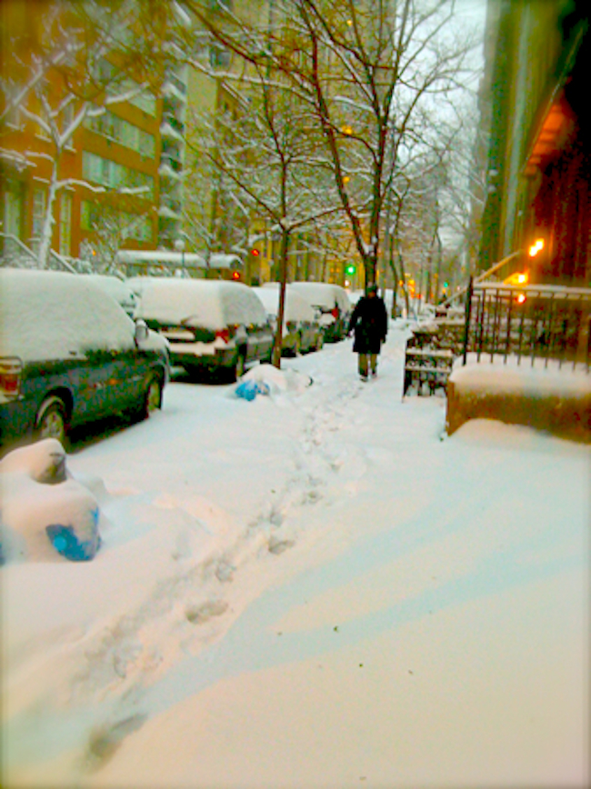 New York City Snow Galavant Girl