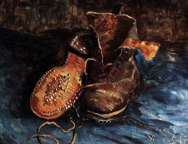 A Pair of Shoes Van Gogh