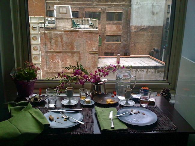 Breakfast Window by Elise McMullen-Ciotti