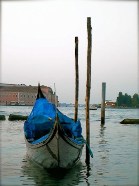 Docked Gondola Galavant Girl