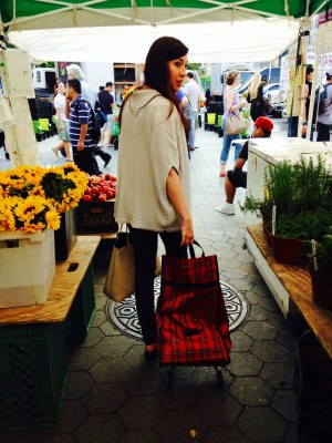 Galvant Girl at the Market