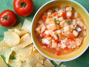 Memorial Day Melon Salsa