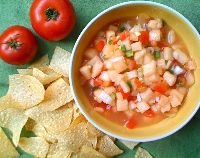 Image Gallery melon salsa